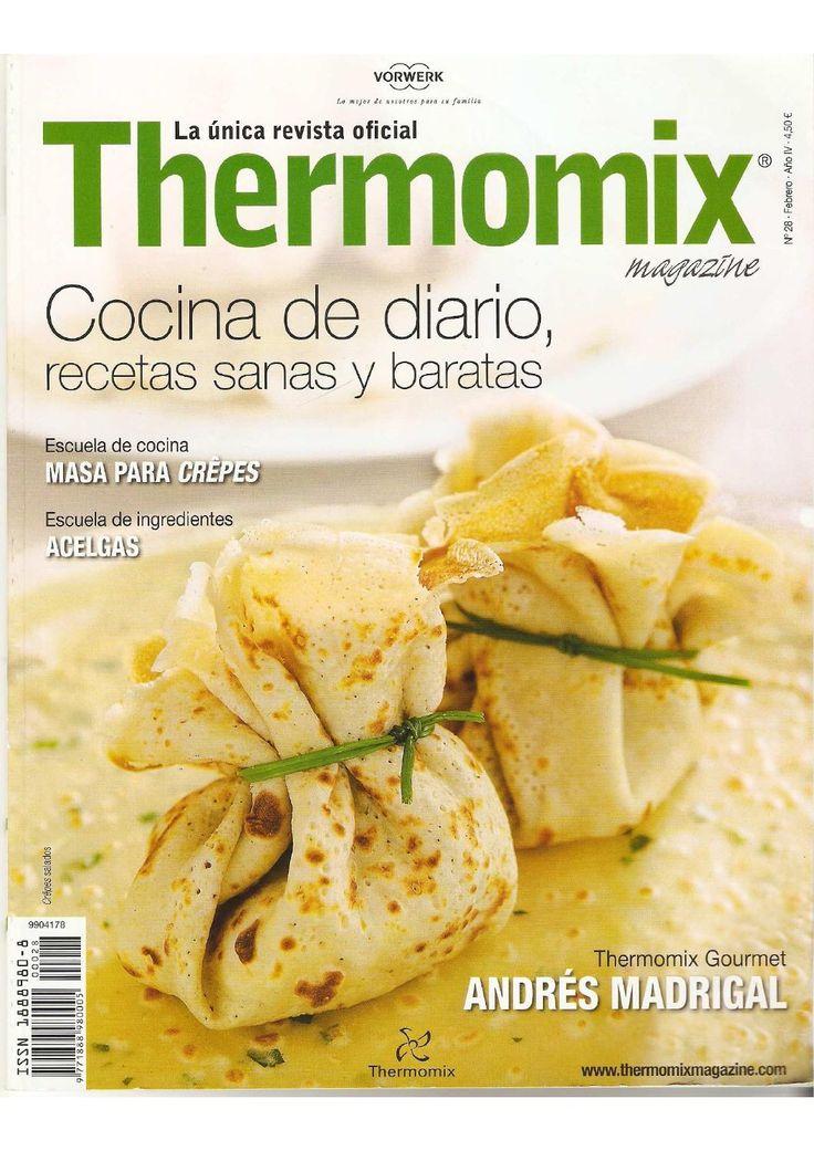 Revista thermomix nº28 cocina de diario, recetas sanas y baratas