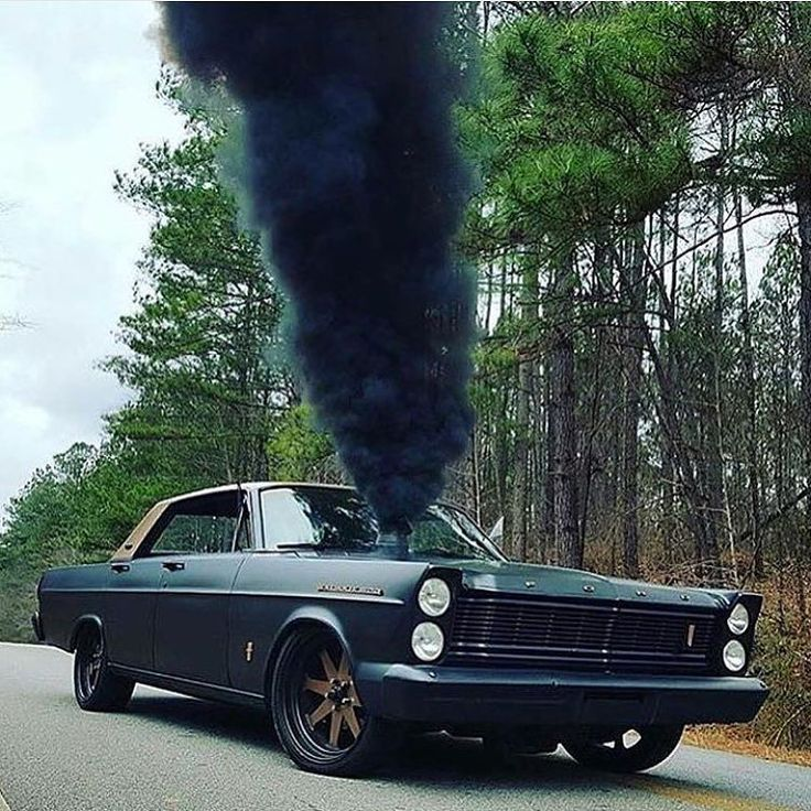 Cummins swapped 1965 Galaxie 500. Well, that's different. Via: @meehantim #turbokings #doubletap by turbokings