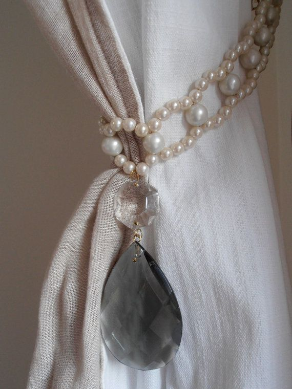 1000+ ideas about Curtain Ties on Pinterest | Curtain Tie ... | 570 x 760 jpeg 66kB