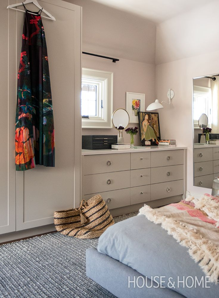 Get inspired by three stunning bedrooms by designer Gillian Gillies, and discover her smart storage solutions that go beyond the closet. | Photo: Jason Stickley