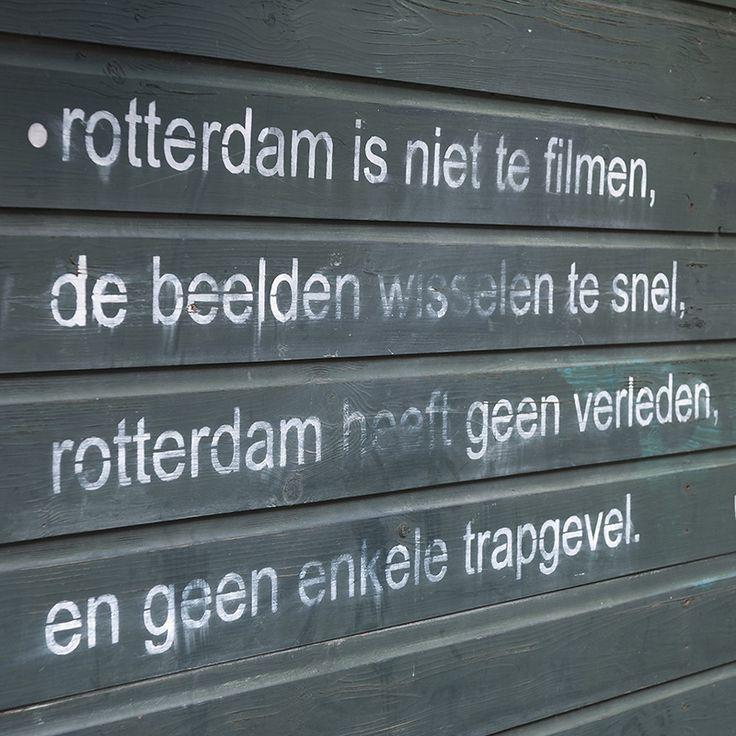 Quote van de nachtburgermeester van Rotterdam | Jules Deelder | The Netherlands