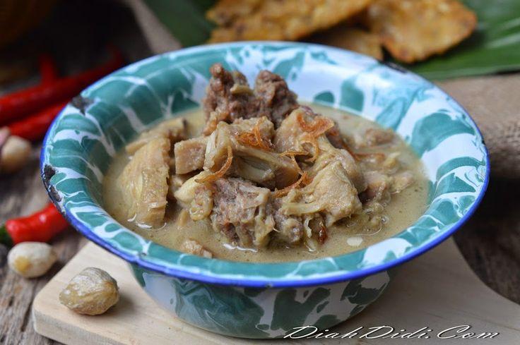 Diah Didi's Kitchen: Jangan Gori & Tetelan