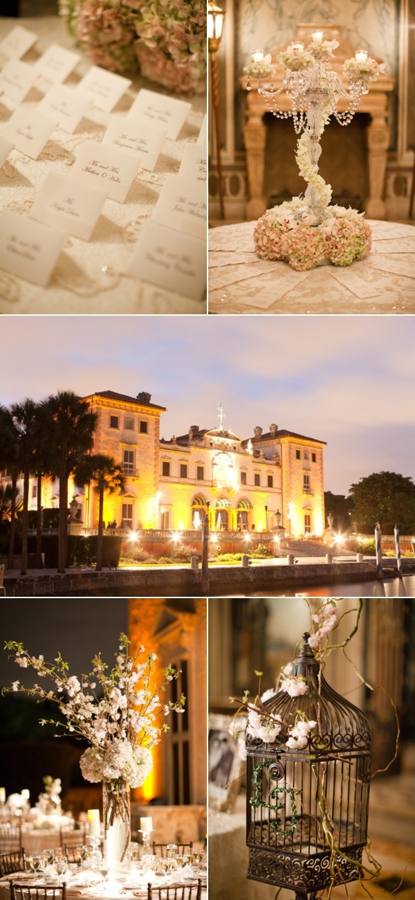 19 best Weddings Decor Inspiration from Vizcaya images on ...