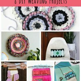 8 DIY Weaving Projects