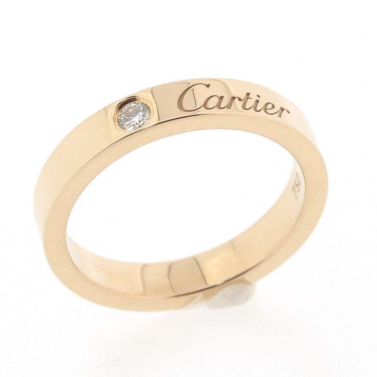 【商品名】カルティエ(Cartier) エングレーブド 1Pダイヤ リング K18PG ピンクゴールド【価格】¥69,800【状態】S 未使用展示品等、新品に非常に近い綺麗な状態の商品です。