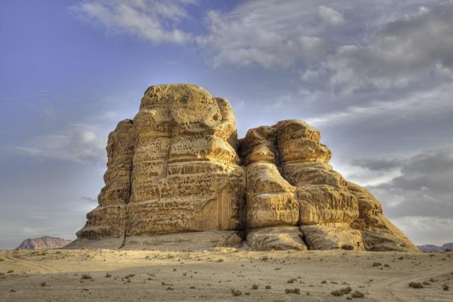 Wadi Rum Pillars of Wisdom Desert Jordan