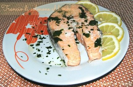 trancio di salmone al limone ricetta secondo