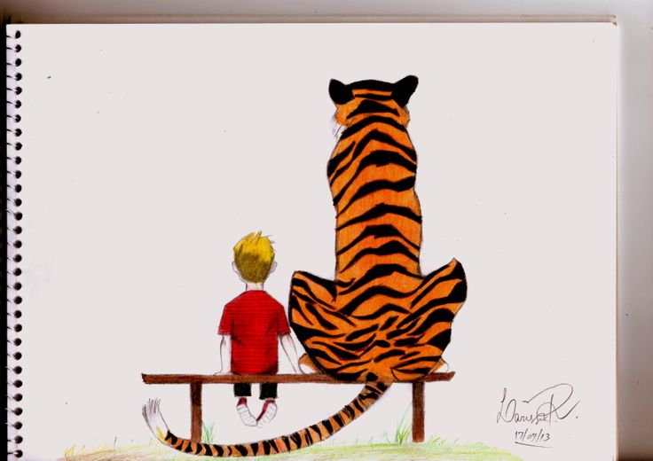#calvin #hobbes #drawing #art