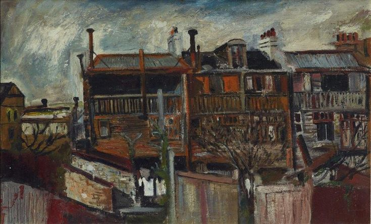 Brett Whiteley (1939 – 1992) Terrace houses, circa 1956