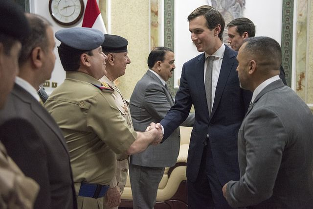 The Friday news that Trump son-in-law in charge of All The Things, Jared Kushner, sought a secret line of communications with Russian officials that would bypass American intelligence services is ...