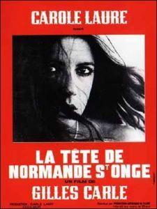 Affiche du film La tête de Normande St-Onge (Gilles Carle, 1975)
