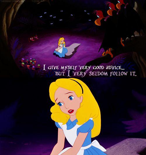 Alice in Wonderland :)