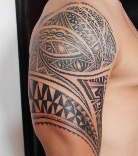 Photo extraite de Tatouage Maori : Découvrez les plus beaux modèles de tatouages en images (50 photos)