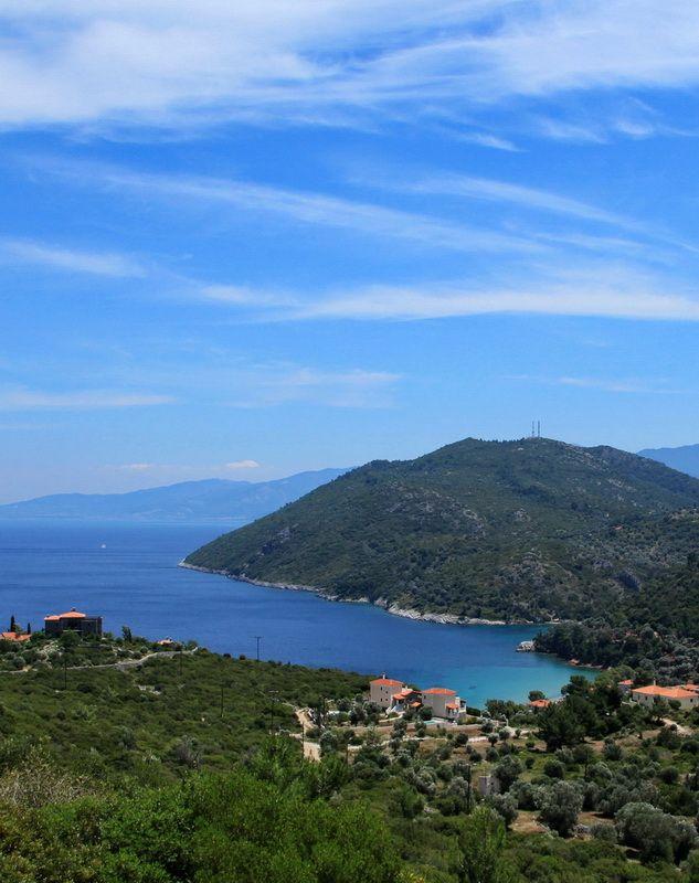 Kerveli bay, Samos. (photo by Jjkfr, that's me!)