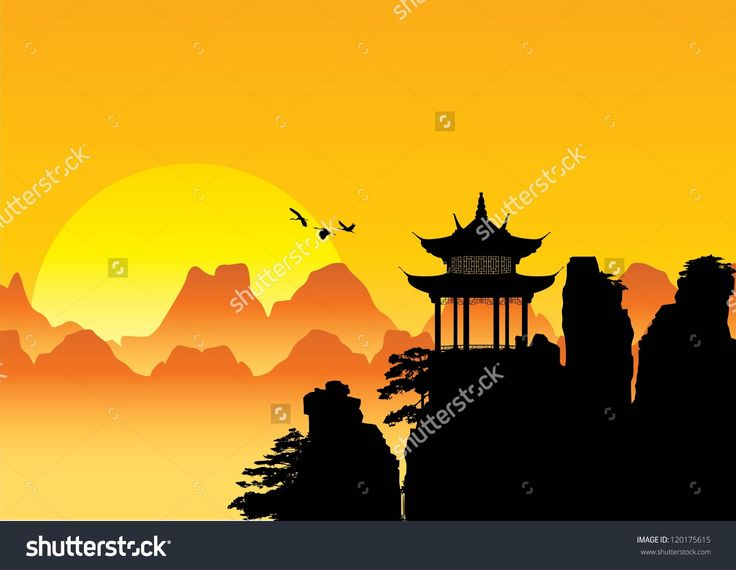 mountains chinese vector - Поиск в Google