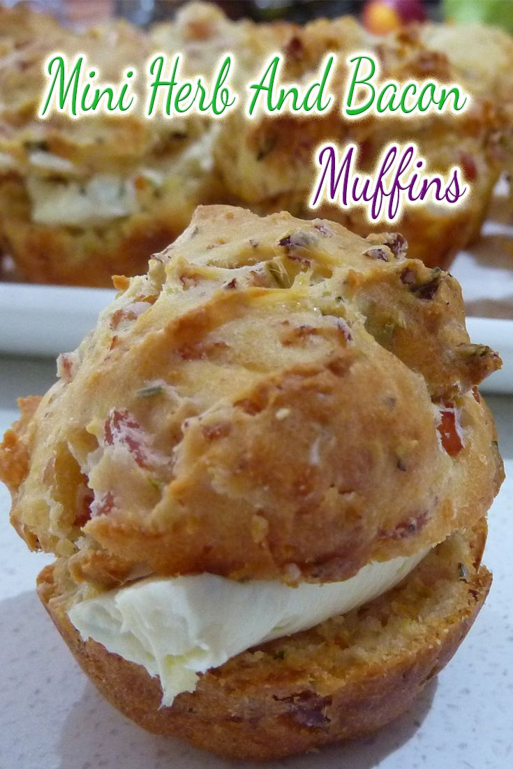 Let's face it, I need to be real to myself and say that I love savoury foods, and these herb muffins are my favourite!