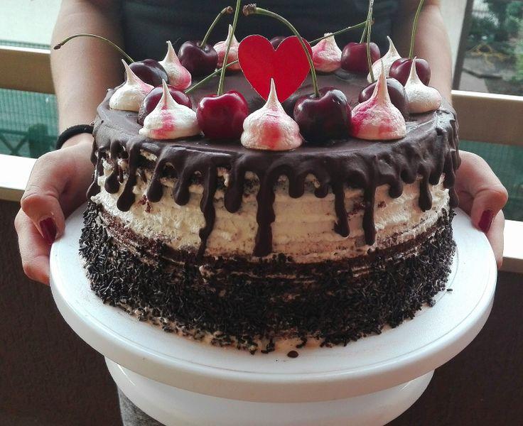 Chiffon Cake o Fluffosa Foresta Nera