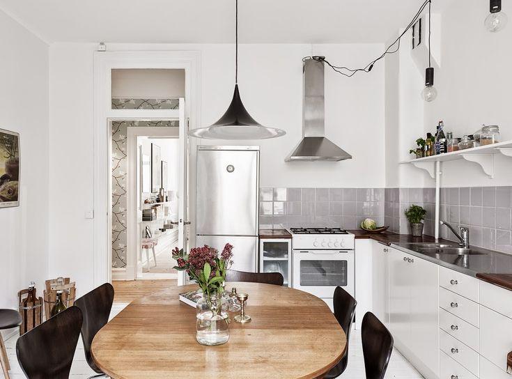 Svěží interiér s moderními i vintage detaily