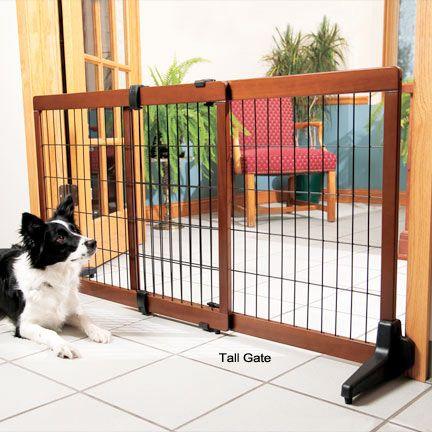 Pet Gates for Dogs| Design Studio Freestanding & Pressure Mount Extra Wide Pet Gates