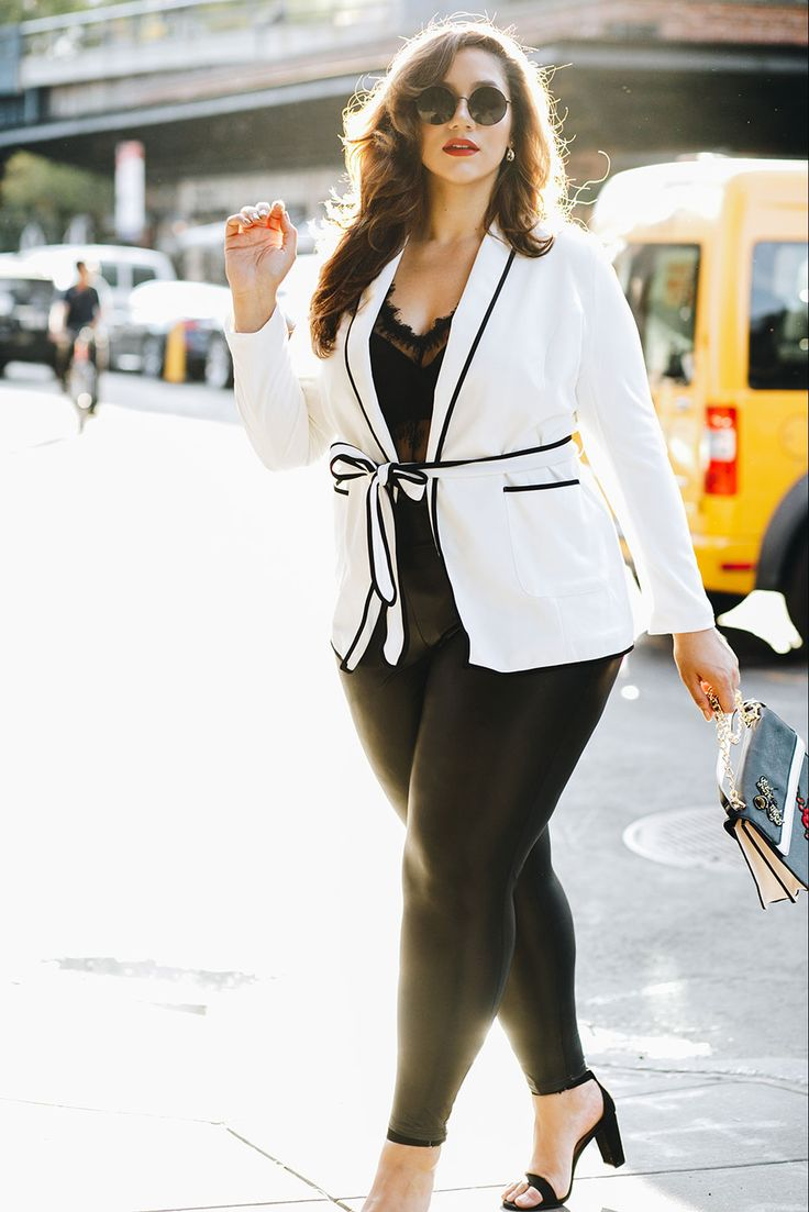 Plus Size Jackie Piping Pajama Blazer | Tk | Pinterest | Plus Size Fashion, Fashion and Plus size