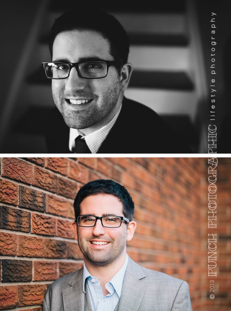 Sarah Lalone | Punch Photographic modern men's headshots for professionals