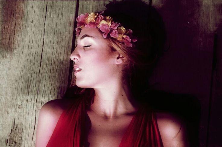 Corona de flores Serendipity.