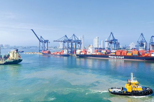 Cartagena Port Business Development Europe International http://yook3.com #Colombia #Cartagena #LatinAmerica