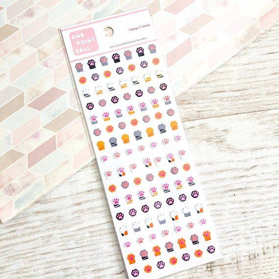 Kitty Planner StickersCat Stickers Cute Cat Decorative Stickers Journal