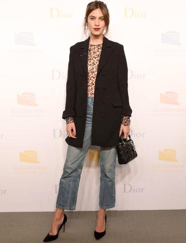 Ne jamais sous-estimer le potentiel chic du jean (photo Dior)
