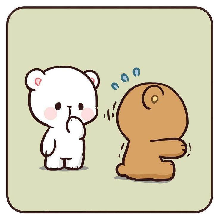 Pin by Rubina Thasrin on Milk Mocha bear   Cute bear ...