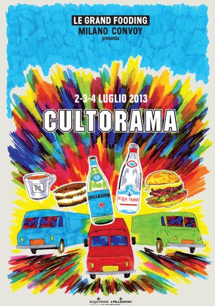 LE GRAND FOODING MILANO 2013 - CULTORAMA