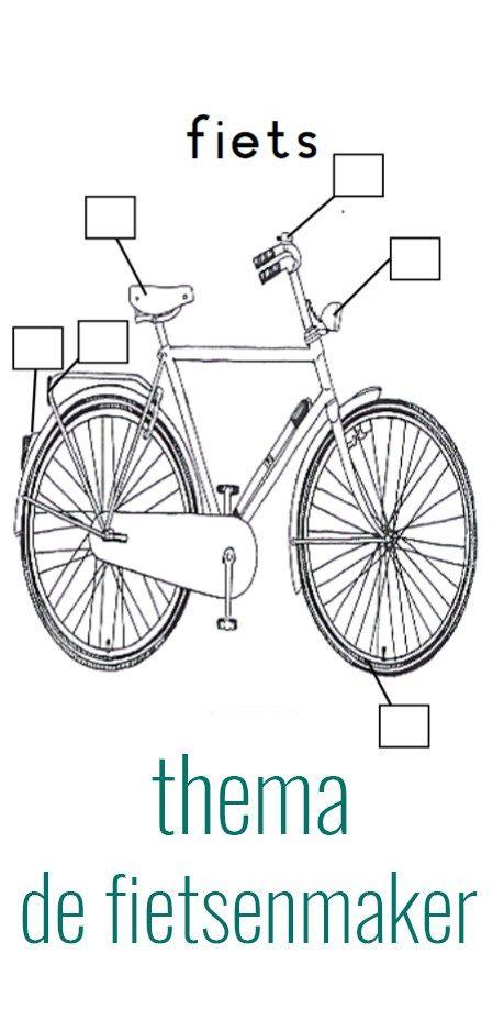 Voor elke onderdeel wat gecheckt is zetten ze een kruisje op het werblad. Daarna mogen ze met een klein beetje water de fiets schoonmaken.