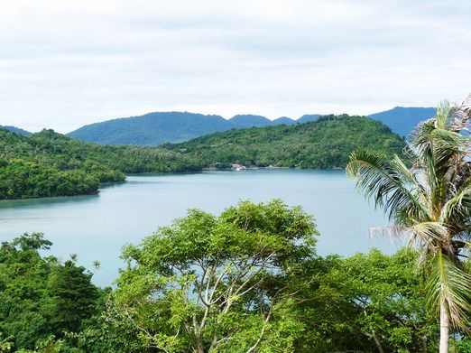 Weh Island's green landscape: Situated around an hour away by ferry from Banda Aceh, Weh Island offers clear waters and ...