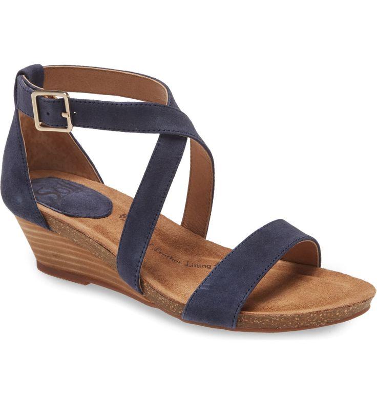 American Eagle Sunray Womens Braided Wedge Sandal Shoe