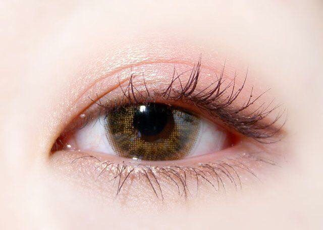Coral pink eye make up #Daily makeup  Follow me and see more pins