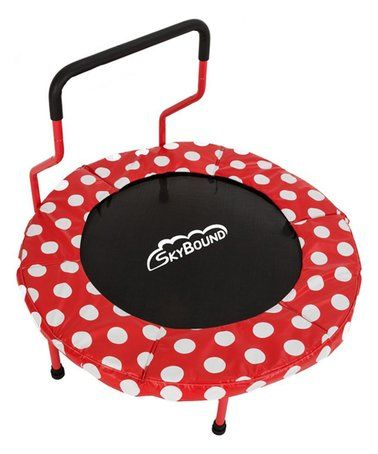This Red Dot Mini Trampoline  for kids - indoor fitness equipment