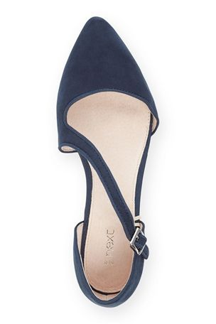 Buy Asymmetric Point Ballerinas from the Next UK online shop