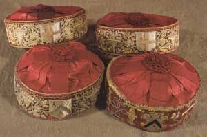 The Tudor crowns worn by the Master and Wardens on ceremonial occasions are among the oldest in the City of London, with the Masters crown dating from 1561. The Carpenter's Company.