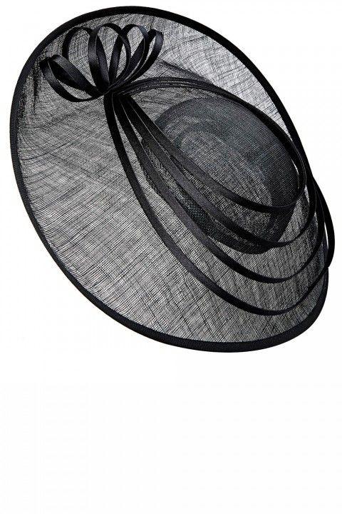 BHS Black Spiral #Fascinator