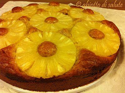 Ghiotto di salute: Torta di avena integrale con ricotta e ananas