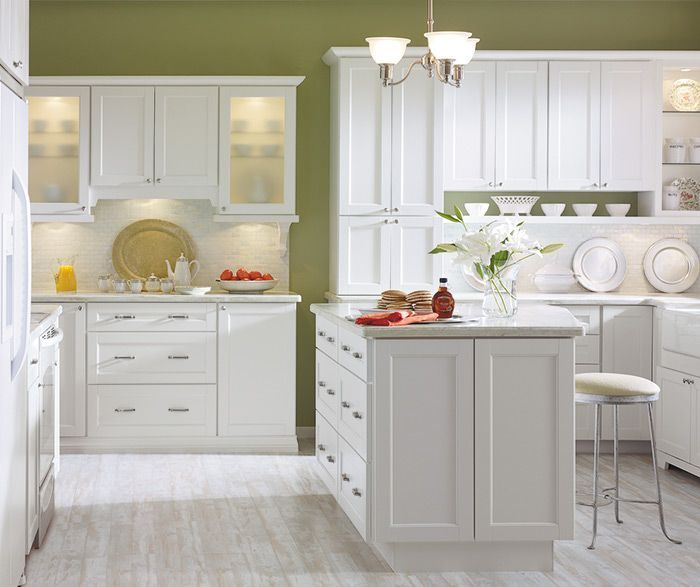 Purestyle Is Durable And Looks Like Paint Kitchen Cabinet Trends White Shaker Kitchen White Kitchen Decor