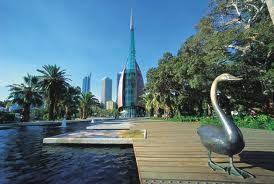 The Swan Bells are a set of 18 bells hanging in a specially built 82.5m high copper & glass campanile, commonly known as The Bell Tower or the Swan Bell Tower, in Perth, Western Australia. Located on Riverside Drive overlooking the picturesque Swan River is one of Perth's most unique & must see tourist attractions.