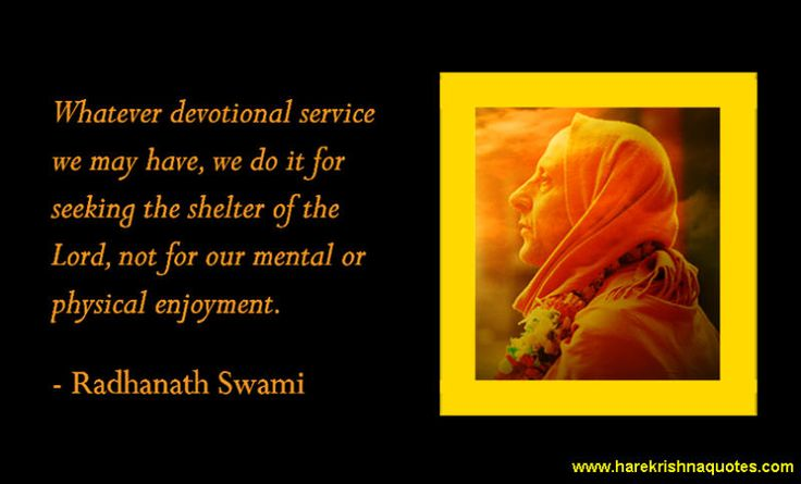 Devotional Service  For full quote go to: http://quotes.iskcondesiretree.com/radhanath-swami-on-devotional-service/  Subscribe to Hare Krishna Quotes: http://harekrishnaquotes.com/subscribe/  #DevotionalService