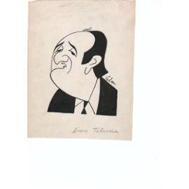 Caricature De Pierre Tchernia Par André Lebon