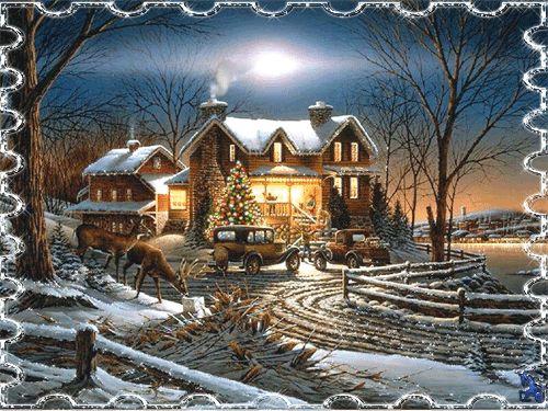 268 best ~ ❤ Animation Winterlandschaften ~ ❤ images on ...