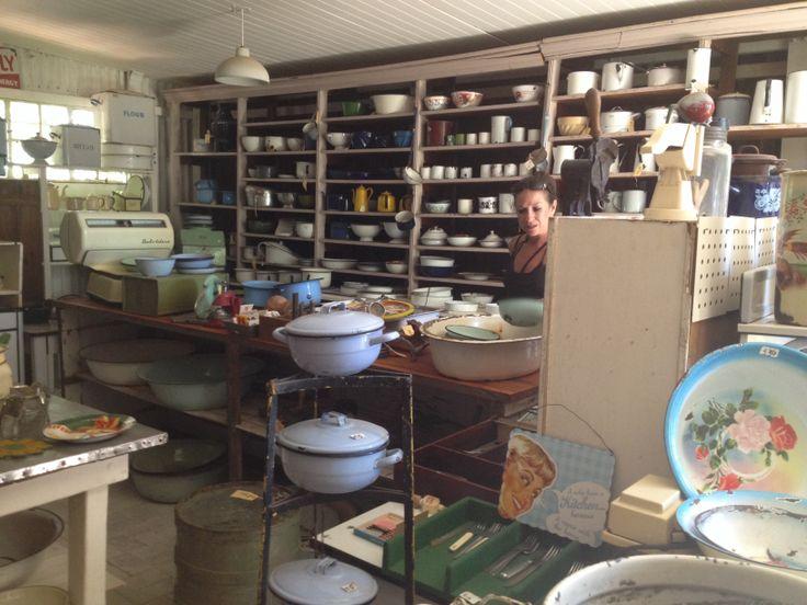 Rosendal, Free State, South Africa. Vintage shop