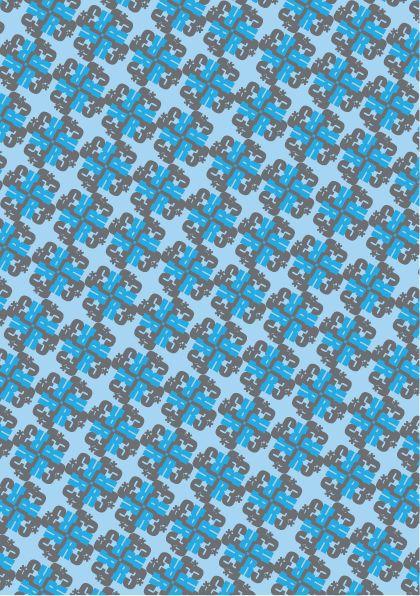 Typographic pattern