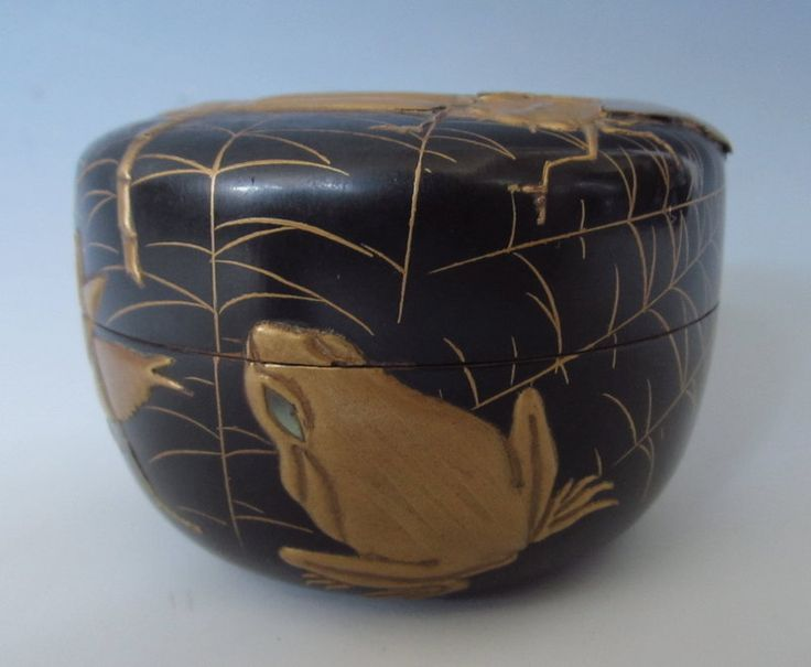 Japanese lacquer Tea Caddy (Natsume)