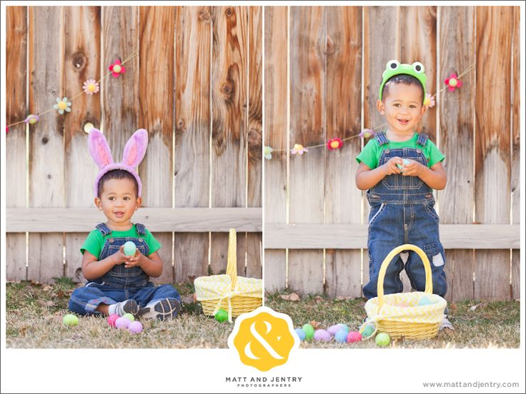 Easter family photo ideas