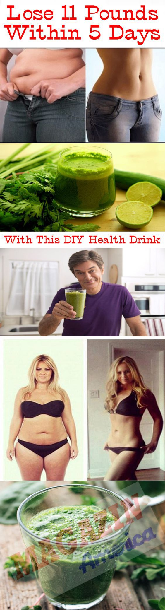 THIS DIY HEALTH DRINK HELPS TO LOSE 11 POUNDS WITHIN 5 DAYS
